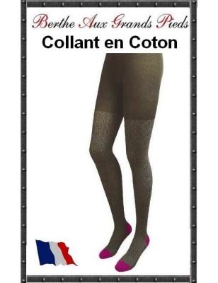 Collant Berthe Coton Dentelle