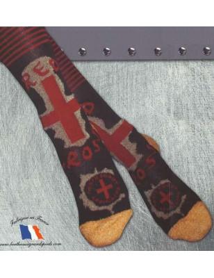 Mi Bas laine enfant Berthe aux grands pieds Croix Rouge