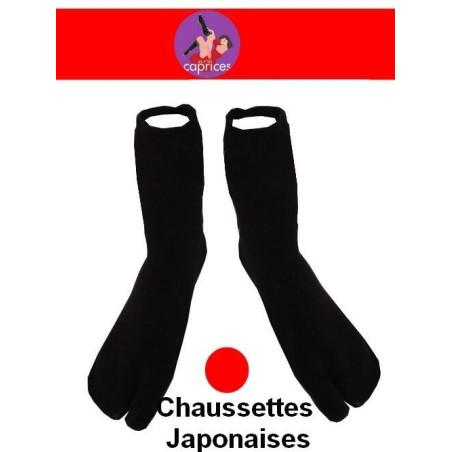 Chaussettes japonaises unisex Noires