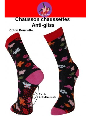 Chaussons chaussettes Petits Caprices Papillons