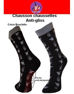 Chaussettes Chaussons Petits Caprices Chats