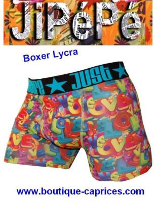 Boxer Homme Jipépé Love