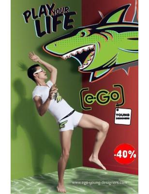 Boxer Hom e Go 3D requin