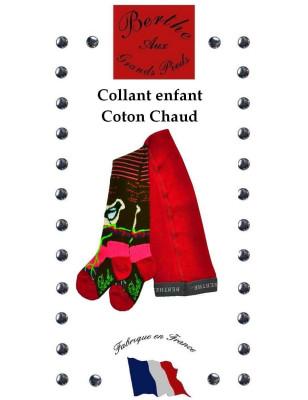 Collant hiver Berthe Fleurs et pies