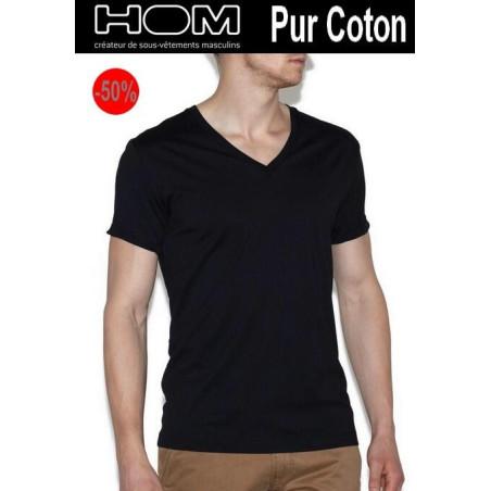 T Shirt Hom Pur coton Mercerisé