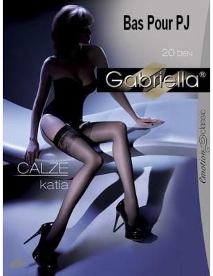 Bas classique pour porte jarretelle Gabriella