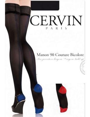 Bas Jarretière Opaque Couture Manon Cervin