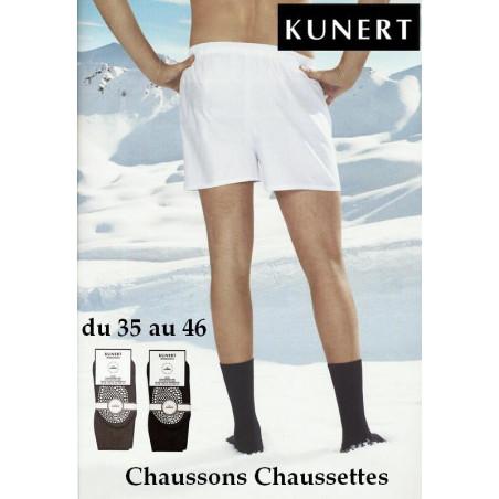 Chaussons Chaussettes Laine et cachemire Kunert