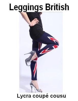 Legging British flag