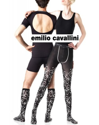 Collant Unisex bicyclettes Emilio Cavallini