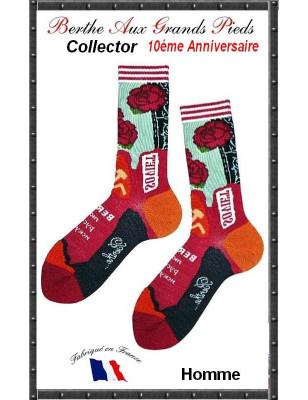 Chaussettes Berthe aux grands pieds Hom collector Soviet