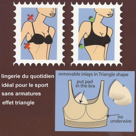 Brassière confort Magic body fashion