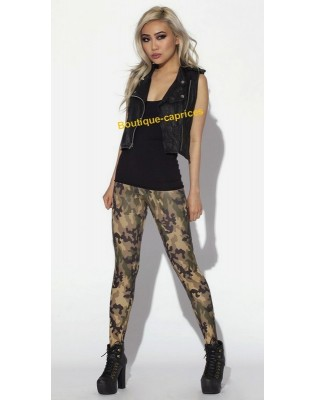 Legging Galaxy Camouflage Militaire