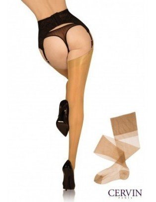 Bas séduction couture nylon Cervin