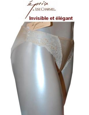 Eprise de Lise Charmel Sublime Invisible slip dentelle profil