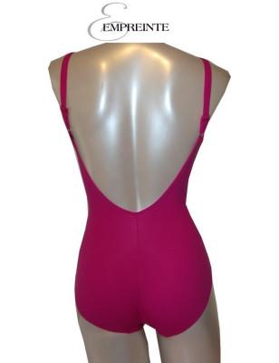 Empreinte maillot de bain 1 pièce rose glamour dos