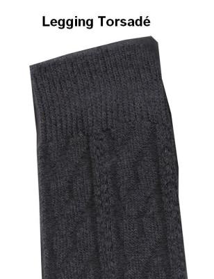 Legging coton Torsadé Voilà