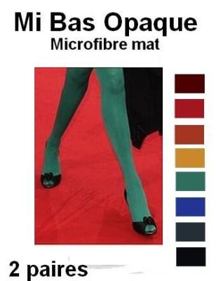 Mi Bas Opaque Microfibre turquoise