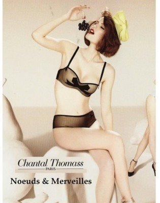 Colection irresistible Bandeau Noeuds et Merveilles Chantal Thomass