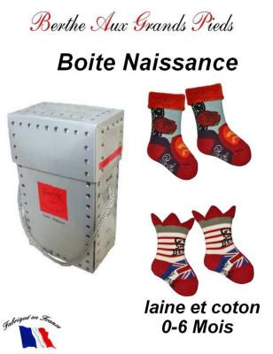 Coffret de chaussettes Berthe aux grands pieds Naissance