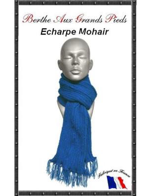Echarpe Mohair Berthe Aux grands Pieds cobalt