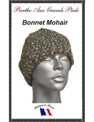 Bonnets Mohair Berthe aux grands Pieds gris