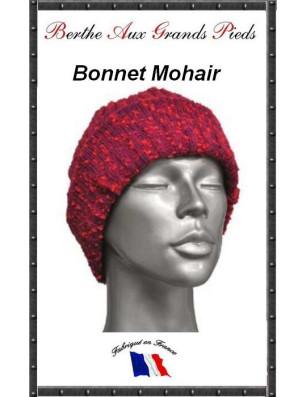 Bonnets Mohair Berthe aux grands Pieds fushia