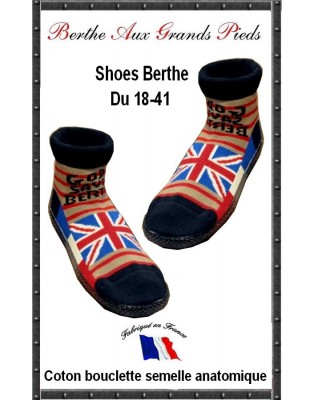 Chausson God Save the Berthe aux grands Pieds