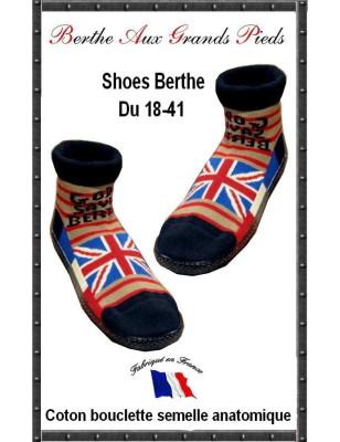 Chausson God Save the Berthe aux grands Pieds