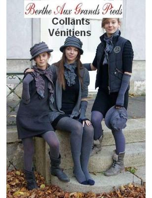 Collant plumetis Vénitien couture Berthe aux grands pieds