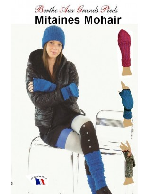 Mitaines Rabats Mohair Berthe aux grands pieds