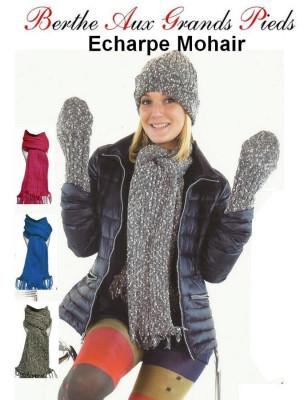 Echarpe Mohair Berthe Aux grands Pieds assortiments