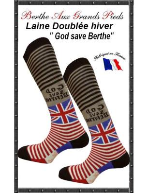 Mi Bas Fantaisie Bouclette Hiver Berthe aux grands pieds god save the bethe