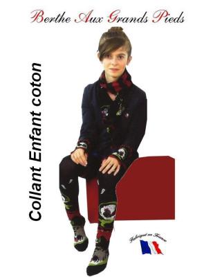 Collant Coq Coton enfant Berthe aux grands Pieds enfants et ados