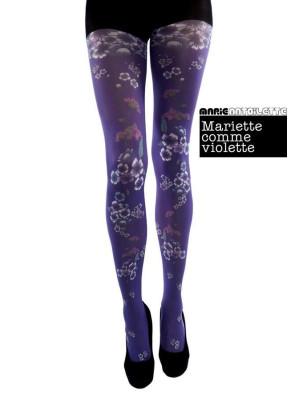 Collant Marie Antoilette Mariette comme une violette