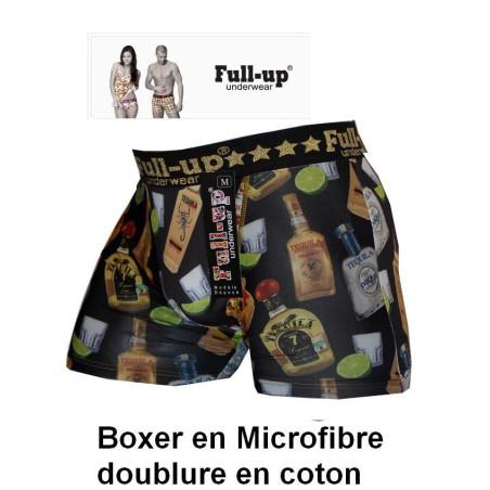Boxer Full up Téquila et cranes