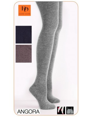 Collant laine douce Angora Doré-Doré assortiment