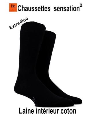 Chaussettes Sensation Doré Doré femme noire