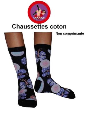 Chaussettes Les petits Caprices  lotus