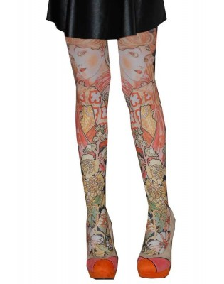 Collants les p'tits Caprices dame Printemps