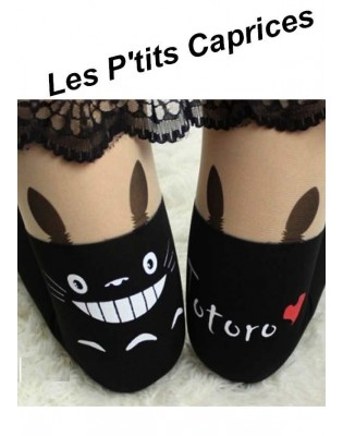 Collants les p'tits Caprices cuissarde Totoro