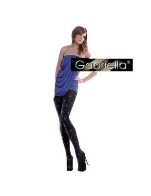 Collant Punto Gabriella pois bleus