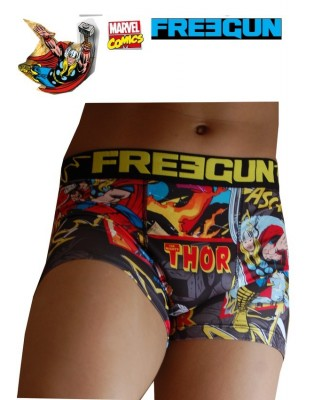 Boxer Freegun Marvel Thor face