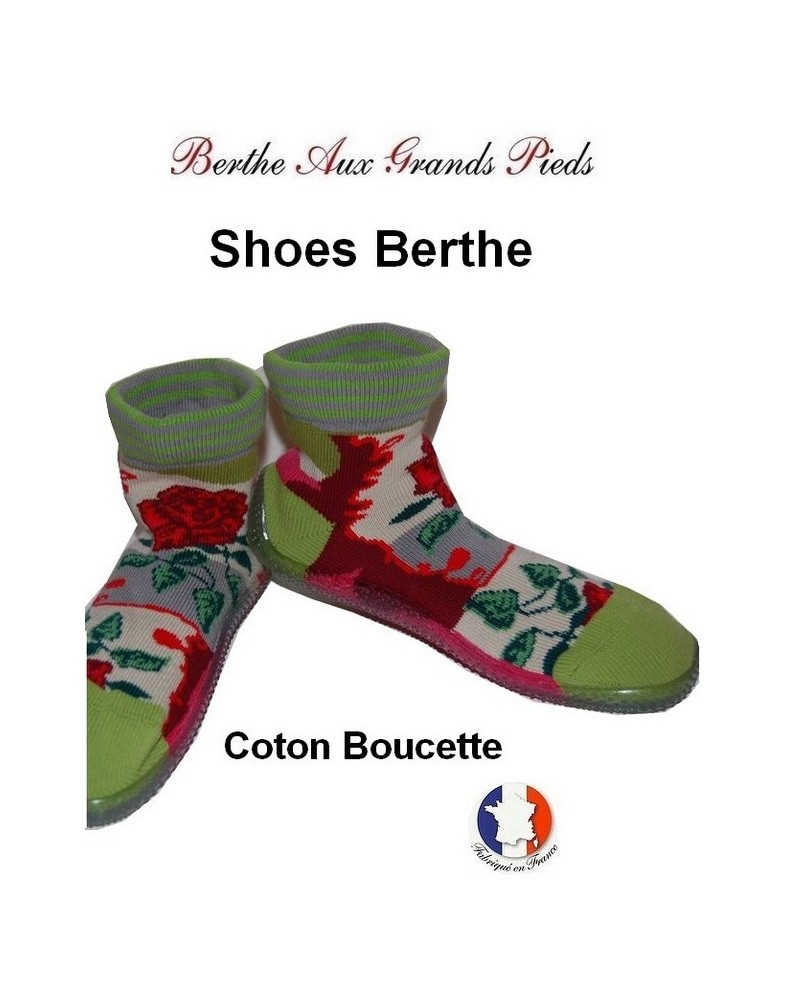 Chausson Berthe Roses