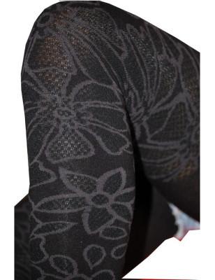 Leggings Achile dentelle de coton détail