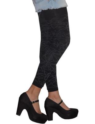 Leggings Achile dentelle de coton profil