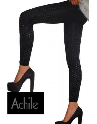Leggings Achile plumetis colors  de coton