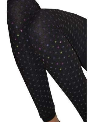 Leggings Achile plumetis colors  de coton détail