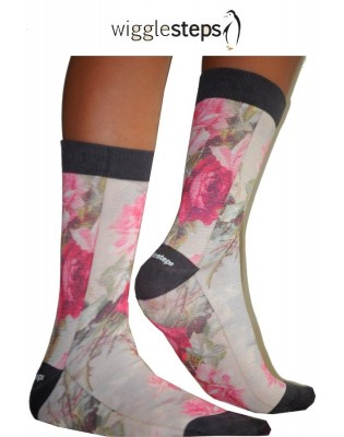 Chaussettes Wigglesteps Roses jeans