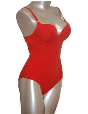 Empreinte nageur balconnet Shape rouge